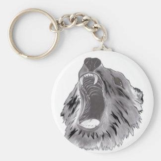 Grizzly Keychain
