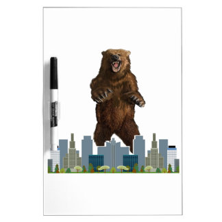Grizzly Launch Dry Erase Whiteboards