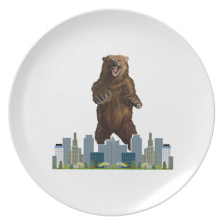 Grizzly Launch Party Plates