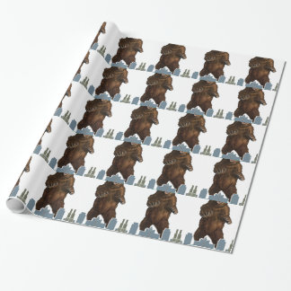 Grizzly Launch Wrapping Paper