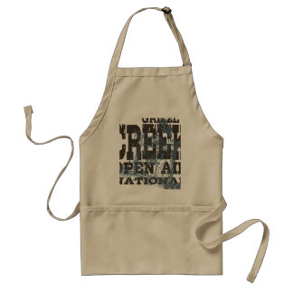 Grizzly National Park Standard Apron