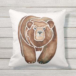 Grizzly Outdoor Pillow
