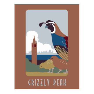 Grizzly Peak postcard