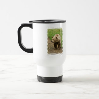 Grizzly  Plastic Travel Mug