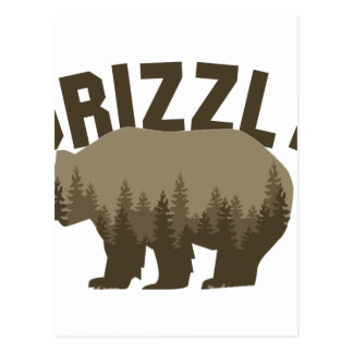 Grizzly Postcard