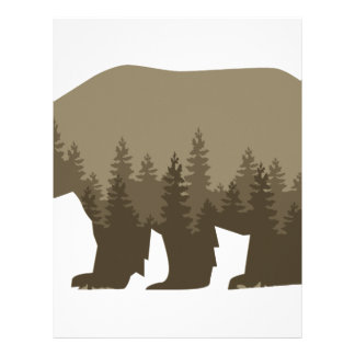 Grizzly Trees Customized Letterhead