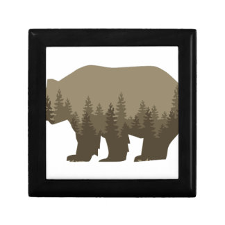 Grizzly Trees Jewelry Box