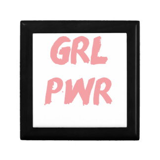 GRL PWR -- Girl Power Jewelry Boxes