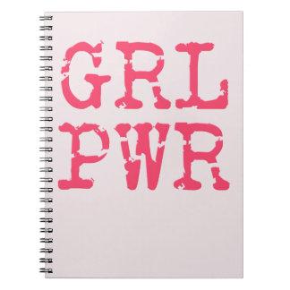GRL PWR (girlpower) Notebook