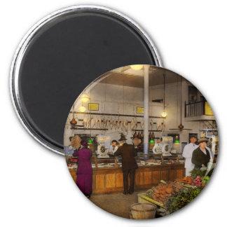 Grocery - Butcher - Sale on pork today 1920 Magnet