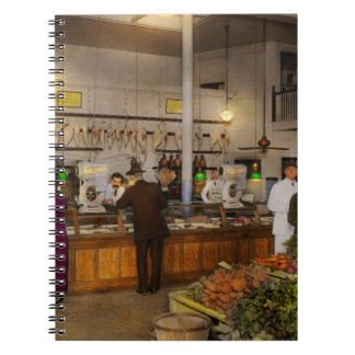 Grocery - Butcher - Sale on pork today 1920 Notebook