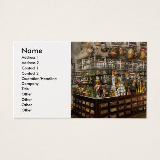 Grocery - Edward Neumann - The groceries 1905 Business Card