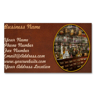 Grocery - Edward Neumann - The groceries 1905 Business Card Magnet