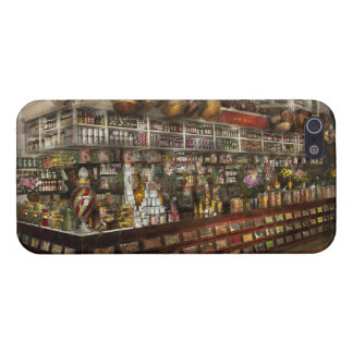 Grocery - Edward Neumann - The groceries 1905 iPhone 5 Case