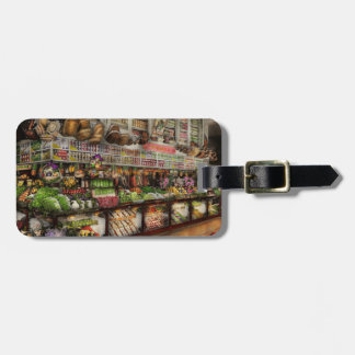 Grocery - Edward Neumann The produce section 1905 Luggage Tag
