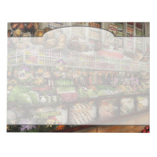 Grocery - Edward Neumann The produce section 1905 Notepads