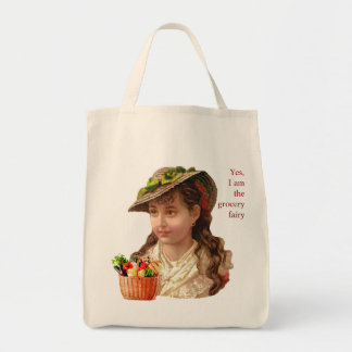 Grocery Fairy Grocery Tote