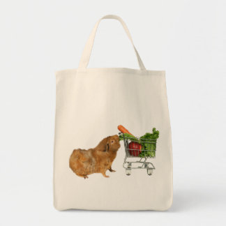 Grocery Shopping Guinea Pig Tote Bag