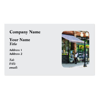 Grocery Store Albany NY Double-Sided Standard Business Cards (Pack Of 100)