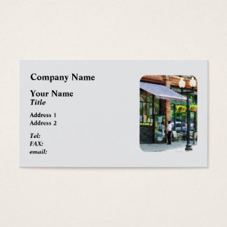 Grocery Store Albany NY Business Card