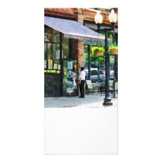 Grocery Store Albany NY Custom Photo Card