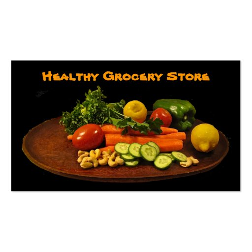 Grocery Store Business Card