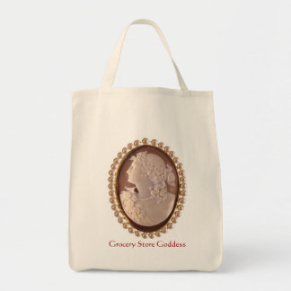 Grocery Store Goddess Tote Bag