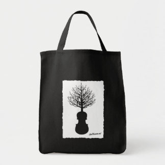 Grocery Tote Bag with Swil Kanim Tree Logo
