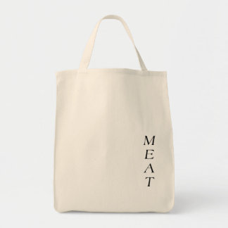 Grocery Tote MEAT BAG