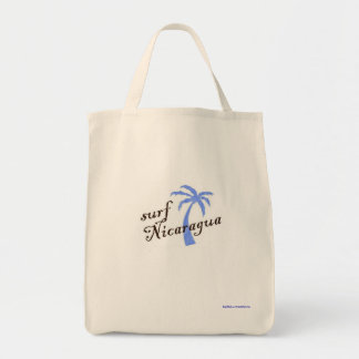 Grocery tote - surf Nicaragua