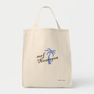Grocery tote - surf Nicaragua