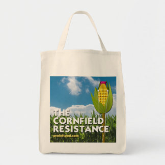 Grocery Tote - The Cornfield Resistance