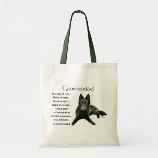 Groenendael Belgian Sheepdog Gifts Tote Bag