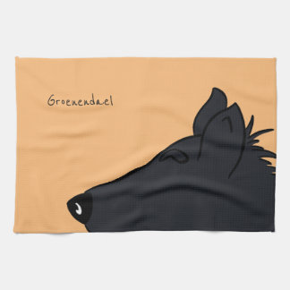 Groenendael head hand towels