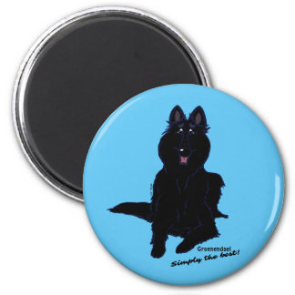 Groenendael - Simply the best! 2 Inch Round Magnet