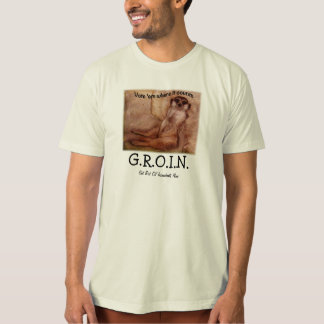 GROIN shirt with prairie dog