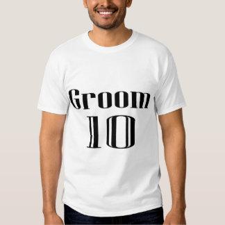 Groom 10 t-shirt