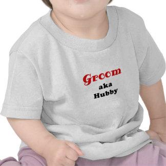 Groom aka Hubby Tshirt