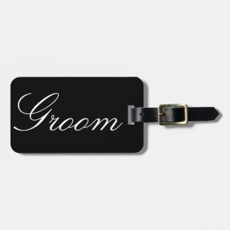 Groom Bag Tag