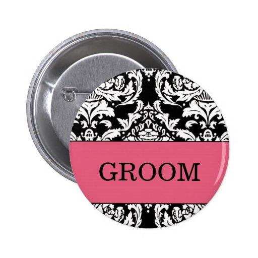 Groom Button