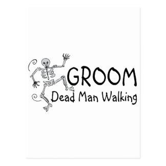 Groom Dead Man Walking Postcard