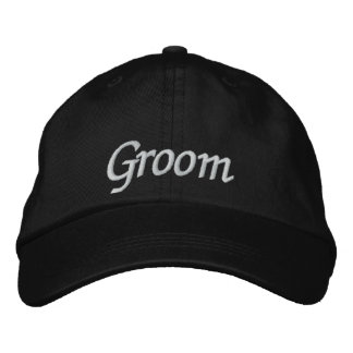 Groom Embroidered Wedding Baseball Cap/Hat Embroidered Hat