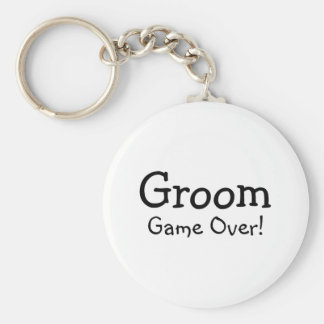 Groom Game Over Key Chains