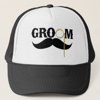 Groom Gentleman Trucker Hat