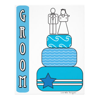 Groom Gifts and Favors Letterhead Design