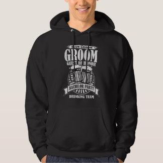 Groom Guest Of Honor Team Groom Bachelor Party Hoodie