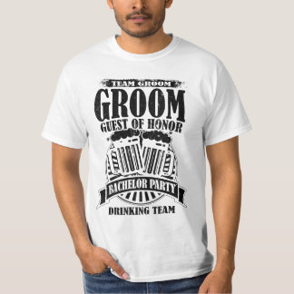 Groom Guest Of Honor Team Groom Bachelor Party T-Shirt
