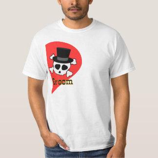 groom, joint bachelor bachelorette party T-Shirt