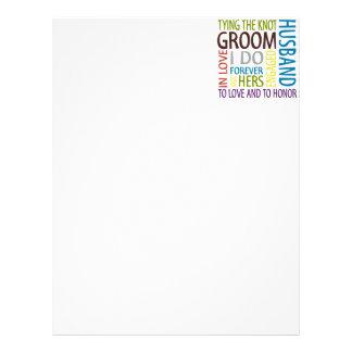 Groom Letterhead Template