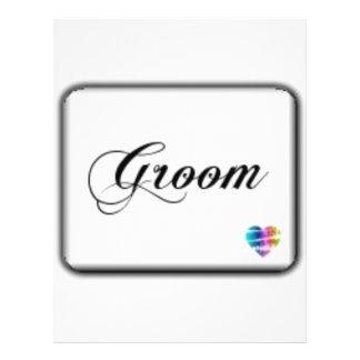 Groom Customized Letterhead